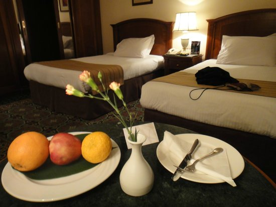 Helnan Palestine Hotel: Complimentary welcome fruits