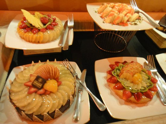 Helnan Palestine Hotel: Dinner desserts