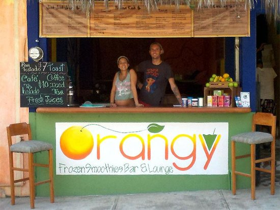Orangy: Us when we just opened:) the beautiful lady was still preggars in those days :) 2 years ago