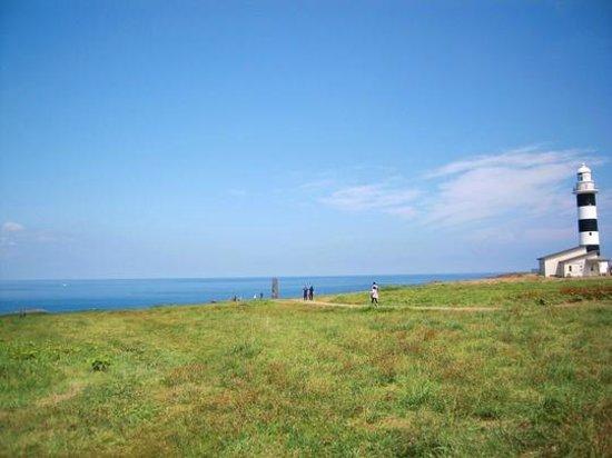 Oga Peninsula: 空も生みも青い