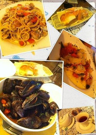 Palazzo Priuli: this resturant recommended by the hotel served very good seafood at reasonable price