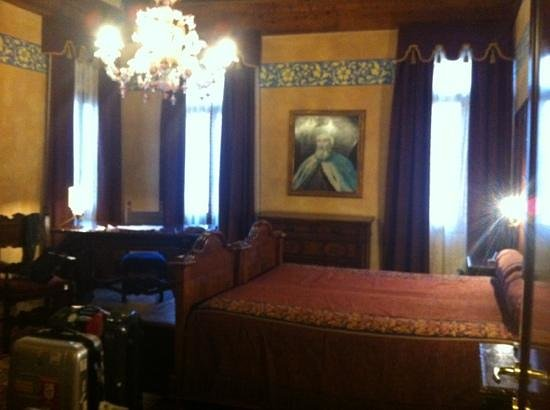 Palazzo Priuli: the junior suite