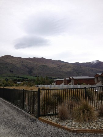 Mercure Oakridge Resort Lake Wanaka: View from Balcony