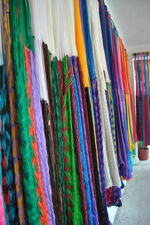 Cancun Vacation Experts - Day Tours: Loved these beautiful handmade Mayan hammocks