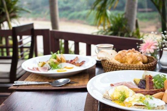 Burasari Heritage : À la carte breakfast