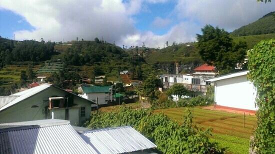 Tanzanite Mount View Hotel: Вид с балкона