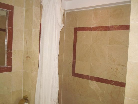 Coco Reef Resort & Spa Tobago: Shower