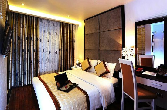 Hanoi Victory Hotel : Superior room