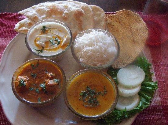 Rajdarbar Indian Restaurant: combo set