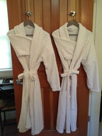 Olea Hotel: Two of the four robes