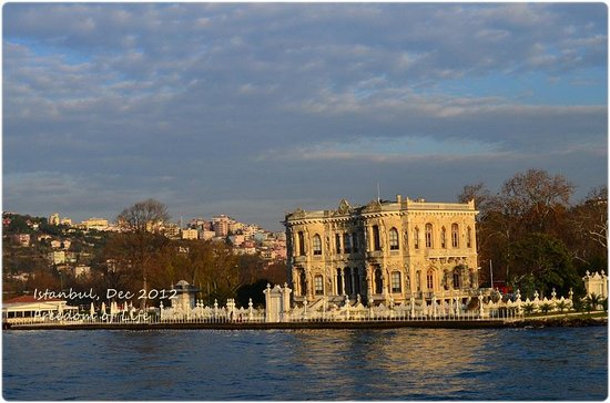 Bosphorus Cruise: Love the scenery