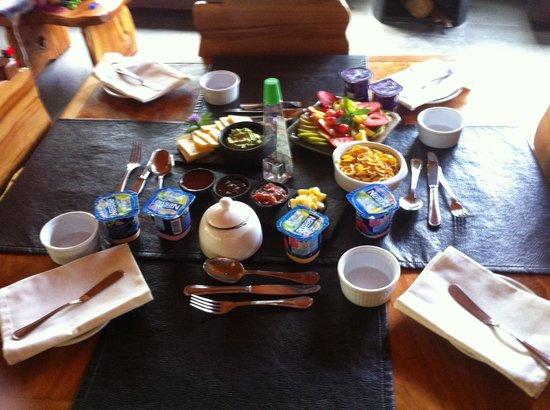 Peumayen Lodge & Termas: Desayuno