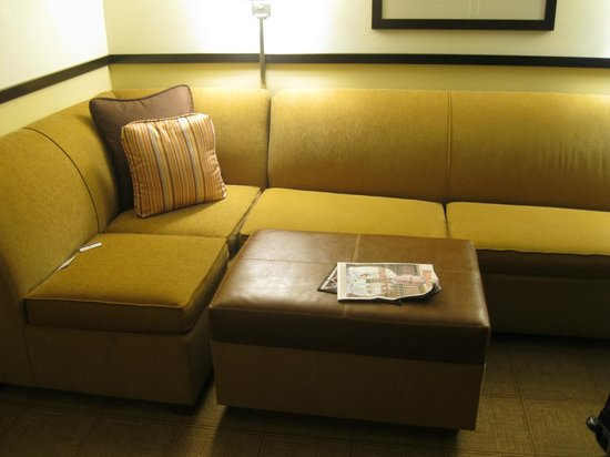 Hyatt Place Oklahoma City Airport: sofa