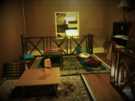 Malaccafe : our private lounge