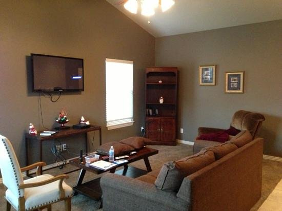 Candlewyck Cove Resort: living area