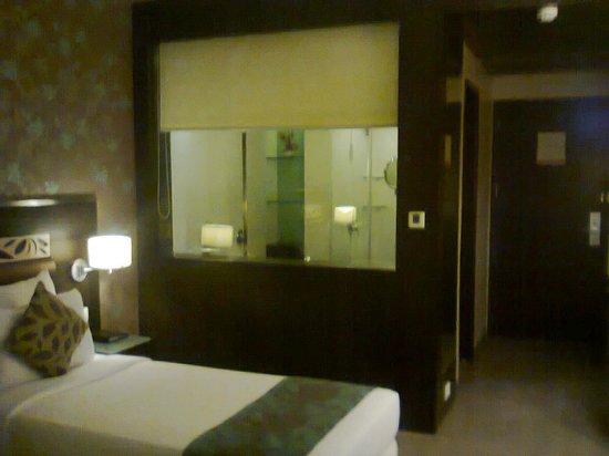 Hotel Supreme Heritage : Room & Bathroom