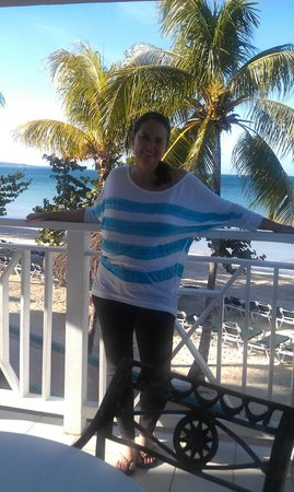 Azul Beach Resort Sensatori Jamaica by Karisma: on our private patio