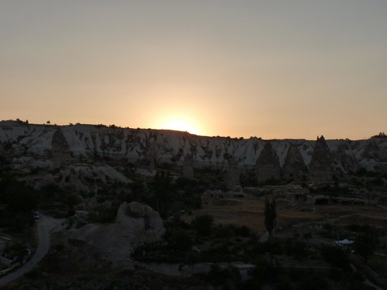 SOS Cave Hotel: 風景