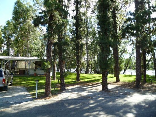 Barham, Australia: set among beautiful trees.