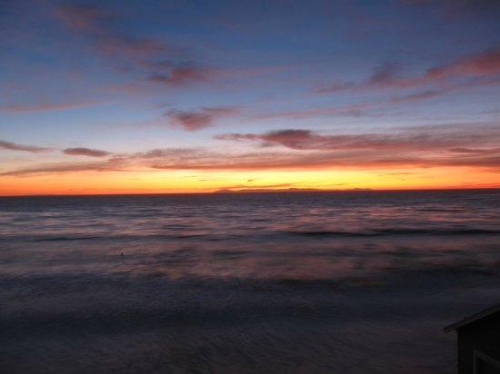 Sunset at Laguna Riviera Resort in Laguna Beach.