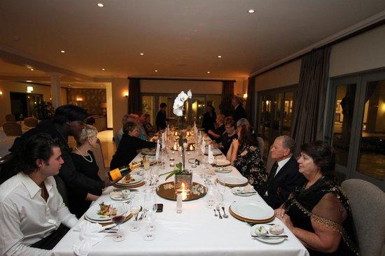 The Syrene Boutique Hotel : Elegant dinning