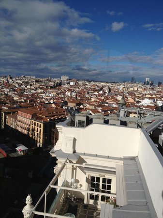 Hotel Atlantico: view from roof