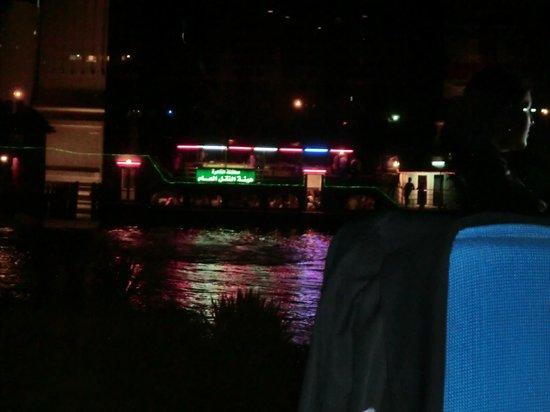 Hilton Cairo Zamalek Residences: flooka boat on the nile