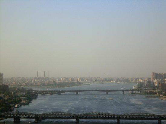 Hilton Cairo Zamalek Residences: far down the nile veiw from room