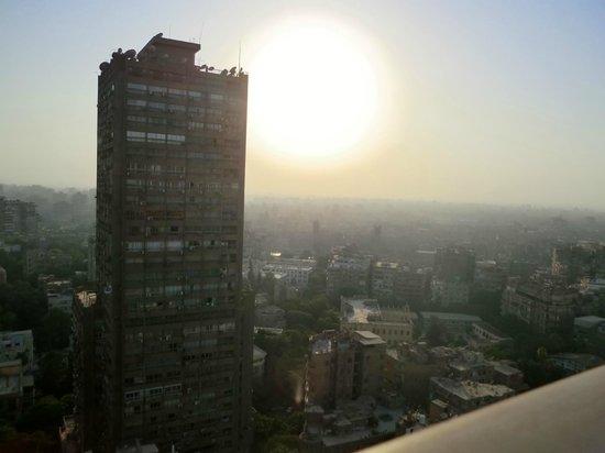 Hilton Cairo Zamalek Residences: side veiw from the room