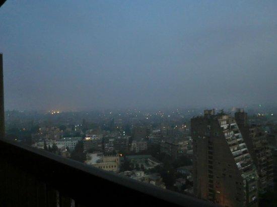 Hilton Cairo Zamalek Residences: hazy veiw