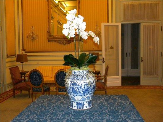 Hotel Avenida Palace: fiori