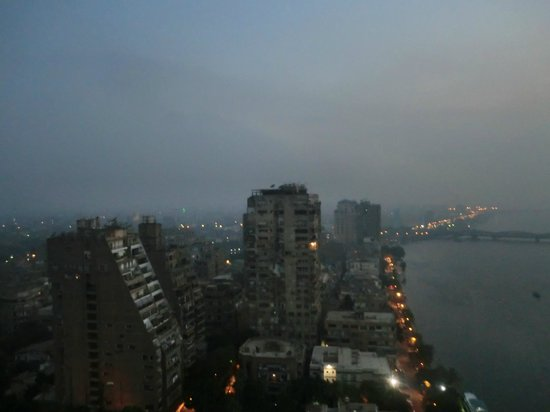 Hilton Cairo Zamalek Residences: down the nile veiw