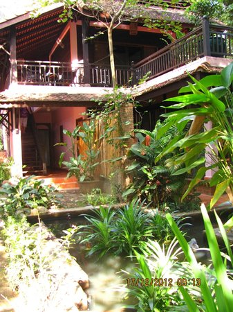 The River Garden Siem Reap: indoors outdoors!
