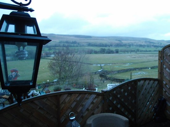 Stoney End  B & B: View from Yordale room