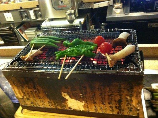 Shinsen Gumi: Grill (Yakitori?)