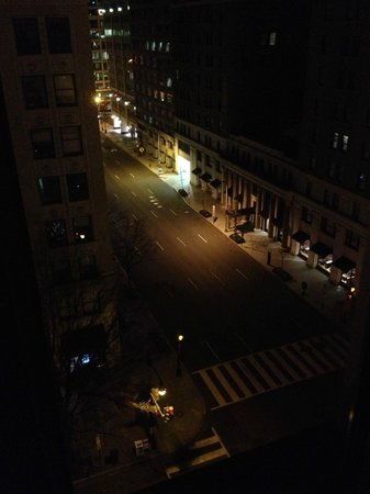 Sofitel Washington DC: View from our window at 3am - suffering from jetlag
