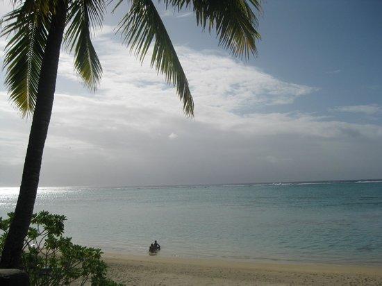 Pacific Resort Aitutaki: View from balcony