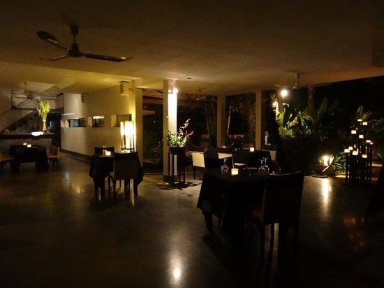 Sojourn Boutique Villas: 落ち着くレストラン