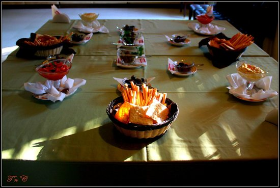 Tuscana Pizzeria : The table!