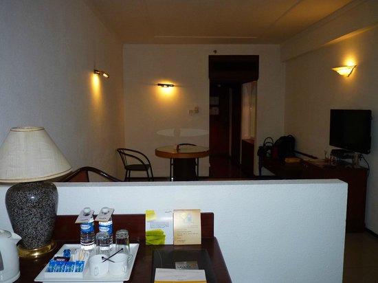 Savera Hotel: the room