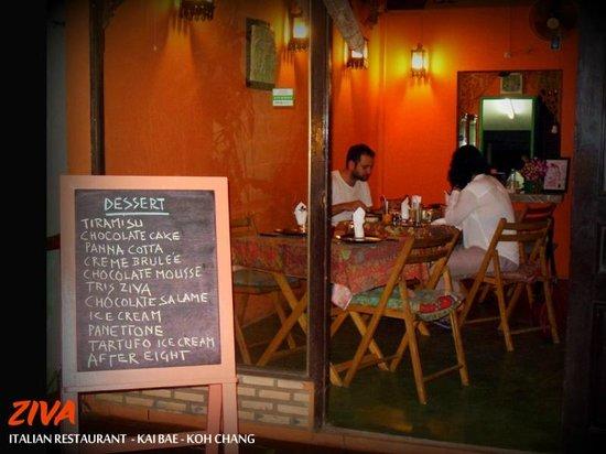 Ziva: A romantic dining experience