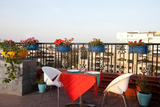 Orchid Suites: Roof Top