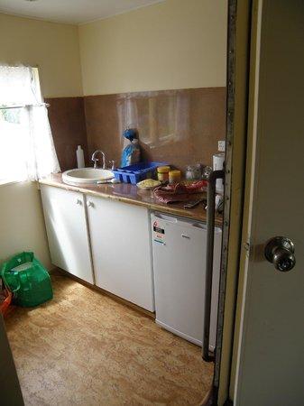Codrington Gardens: kitchen area