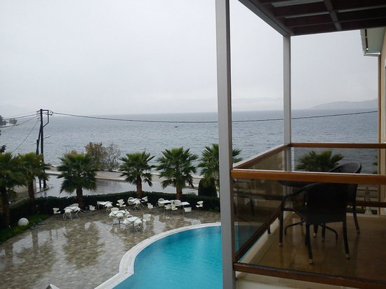 Valis Resort: Sea view from Room