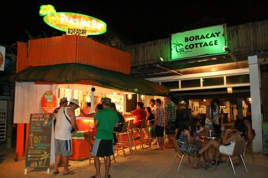 Beach Hut Bar Boracay