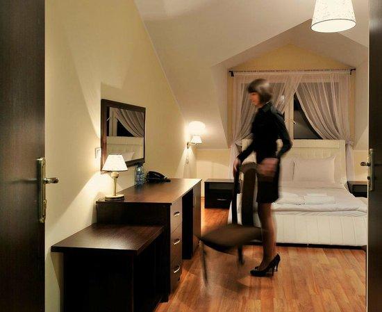 Dworek Rozany: room