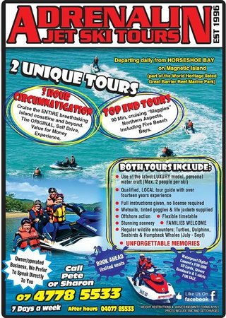 Magnetic Jet Adrenalin Jet Ski Tours: Tour Info