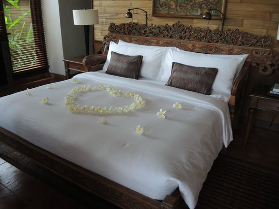 The Chedi Club Tanah Gajah, Ubud, Bali – a GHM hotel: Our bed