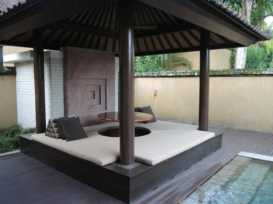 The Chedi Club Tanah Gajah, Ubud, Bali – a GHM hotel: Outdoor area