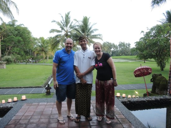The Chedi Club Tanah Gajah, Ubud, Bali – a GHM hotel: Us and Kadek